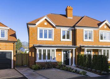 Thumbnail 4 bed semi-detached house for sale in Westdene Way, Weybridge