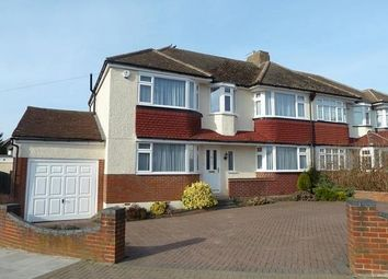 Thumbnail 4 bed semi-detached house to rent in Charterhouse Road, Orpington