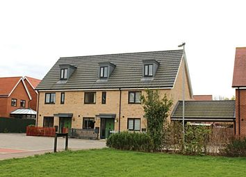 Thumbnail 3 bedroom town house for sale in Firefly Road, Upper Cambourne, Cambourne, Cambridge