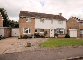 Thumbnail 4 bed detached house for sale in Honiton Way, Bedford