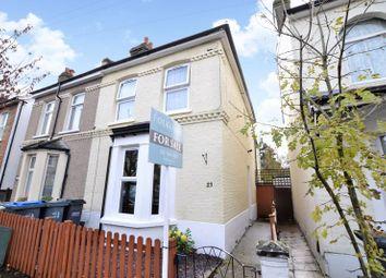 Thumbnail Semi-detached house for sale in Elmers Road, Woodside, Croydon