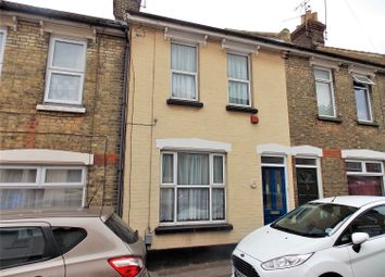 Thumbnail 2 bed terraced house for sale in Ingle Road, Chatham