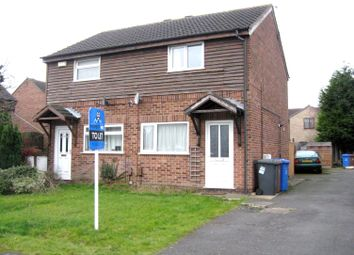 Thumbnail 2 bed semi-detached house to rent in Hobkirk Drive, Stenson Fields