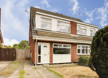 3 bed semi-detached house for sale in Holbeck Road, Hucknall, Nottinghamshire NG15