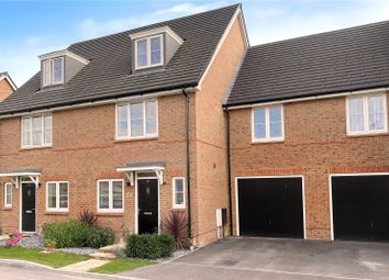 Thumbnail 4 bed terraced house for sale in Cresswell Square, Angmering, West Sussex