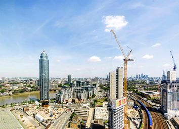 Thumbnail 2 bed flat to rent in Sky Gardens, 155 Wandsworth Road, Nine Elms, London