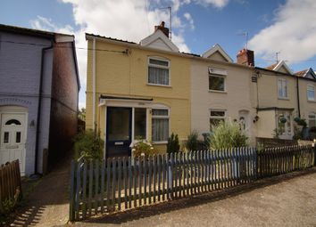 Thumbnail 2 bedroom end terrace house for sale in St. Johns Road, Saxmundham