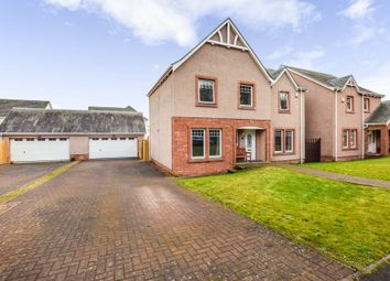 Thumbnail 4 bed detached house for sale in Moncur Road, Inchture, Perth