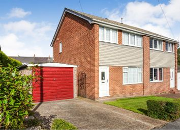Thumbnail 3 bed semi-detached house for sale in Katrina Grove, Featherstone, Pontefract