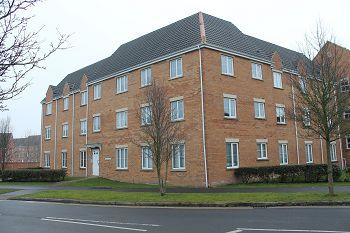 Thumbnail 2 bed flat to rent in Mill House, Sandalwood Road, Westbury, Wiltshire