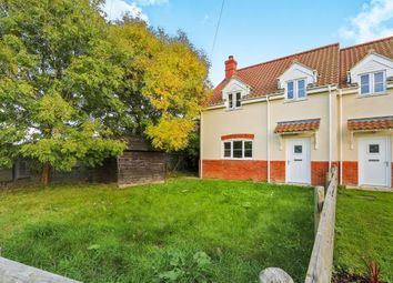 Thumbnail 3 bed semi-detached house for sale in Yaxham, Dereham, Norfolk