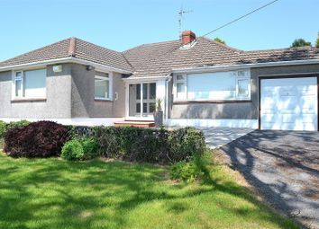 Thumbnail 3 bed detached bungalow for sale in Tirmynydd Road, Three Crosses, Swansea