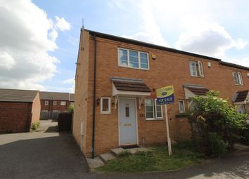 Thumbnail 2 bed end terrace house for sale in Murray Close, Bestwood, Nottingham