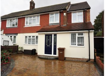 Thumbnail 4 bed semi-detached house for sale in Parkfield Road, Gillingham