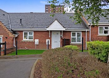 Thumbnail 2 bed terraced bungalow for sale in Gunnell Close, Hanley, Stoke-On-Trent