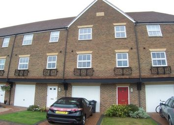Thumbnail 4 bed town house to rent in Medway Court, Aylesford