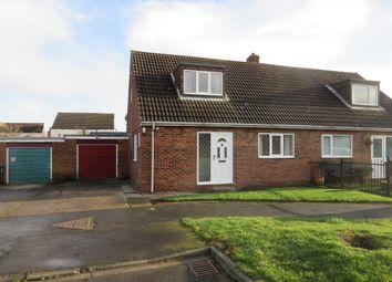 Thumbnail 3 bed semi-detached bungalow for sale in Plough Garth, Kellington, Goole