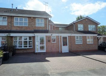 Thumbnail 4 bed semi-detached house for sale in Mappleborough Road, Solihull