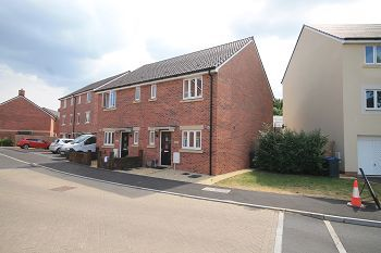 Thumbnail 3 bed semi-detached house to rent in Soprano Way, Hilperton, Trowbridge