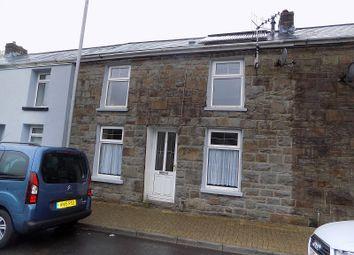 Thumbnail 2 bed terraced house for sale in Pembroke Terrace, Nantymoel, Bridgend.