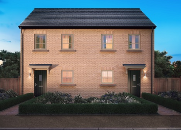 Thumbnail 2 bed semi-detached house for sale in The Milan, Malton Way, Doncaster