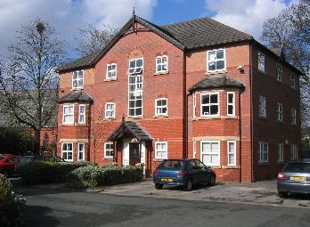 Thumbnail 2 bed flat to rent in Burton Road, Withington