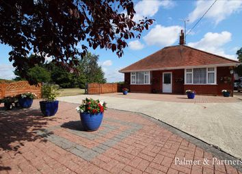 Thumbnail 5 bed detached bungalow for sale in Hintlesham, Ipswich
