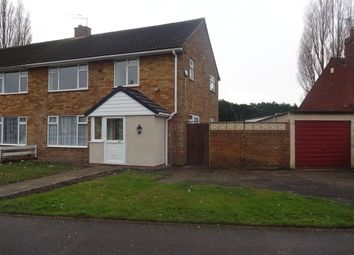 Thumbnail 3 bed property to rent in Springfields, Rushall, Walsall