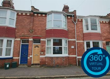 Thumbnail 2 bed terraced house for sale in Cedars Road, St Leonards, Exeter