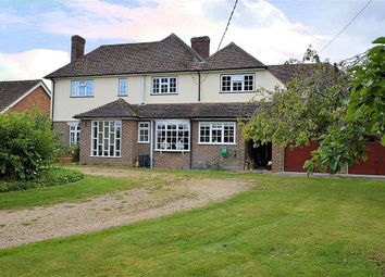 Thumbnail 5 bedroom detached house for sale in Theale Road, Burghfield, Reading