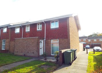 Thumbnail 3 bed end terrace house to rent in Wolseley Close, Gateshead