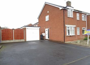 Thumbnail 3 bedroom semi-detached house for sale in Aster Close, Burbage, Hinckley