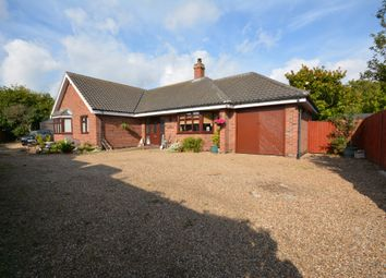 Thumbnail 3 bedroom detached bungalow for sale in Saxon Road, Lowestoft