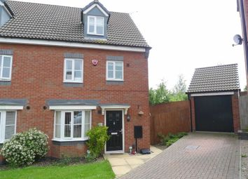 Thumbnail 4 bed semi-detached house to rent in Bacon Close, Giltbrook, Nottinghamshire