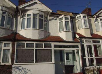 Thumbnail 3 bedroom terraced house to rent in Midhurst Avenue, Croydon