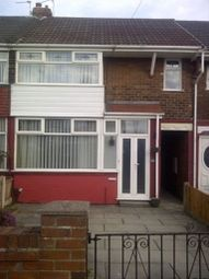 Thumbnail 3 bed town house to rent in Chatsworth Road, Prescot, Merseyside