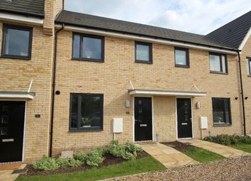 Thumbnail 3 bed terraced house for sale in Darwin Walk, Withersfield, Haverhill