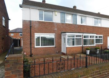 Thumbnail 3 bed end terrace house to rent in Fallodon Road, North Shields
