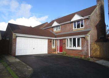 Thumbnail 4 bed detached house for sale in Wintergreen, Calne