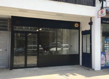 Retail premises to let in High Street, Whitton TW2