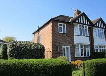 Thumbnail 3 bed semi-detached house to rent in Rodney Road, West Bridgford, Nottingham