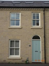 Thumbnail 3 bed terraced house to rent in Jubilee Terrace, St. Philips Road, Cambridge