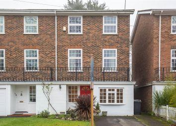 Thumbnail 3 bedroom end terrace house for sale in York Road, New Barnet, Barnet