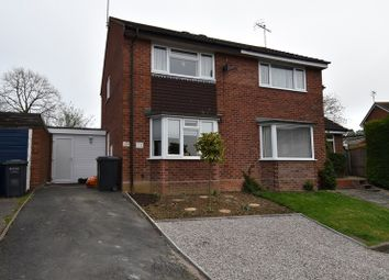 Thumbnail 2 bed semi-detached house for sale in Almond Close, Evesham