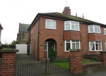 Thumbnail 3 bed semi-detached house to rent in Sutton Street, Norton, Malton