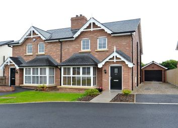 Thumbnail 3 bed semi-detached house for sale in Tullynagardy Lane, Crawfordsburn Road, Newtownards
