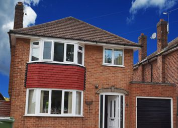 Thumbnail 4 bed detached house to rent in Kingsway, Leicester