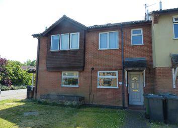 Thumbnail 2 bedroom terraced house to rent in Martinsbridge, Peterborough