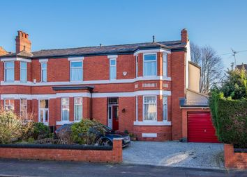 Thumbnail 4 bed semi-detached house for sale in Trafalgar Road, Salford