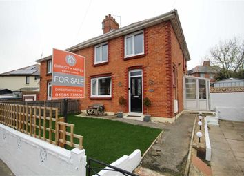 Thumbnail 3 bed semi-detached house for sale in Abbotsbury Road, Weymouth, Dorset
